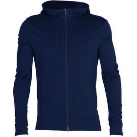 Icebreaker Quantum III LS Zip Hood Jacket Men royal navy